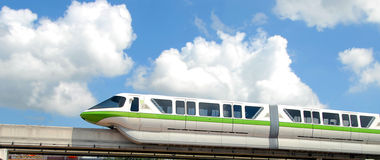 Monorail train Stock Photography