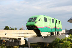 Monorail train Royalty Free Stock Photography