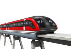 Monorail Train Royalty Free Stock Images
