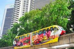 Monorail train, Kuala Lumpur Stock Image