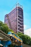 Monorail train at Kuala Lumpur Stock Photo