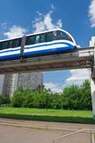 Monorail train Stock Image