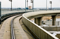 Monorail train route royalty free stock photo