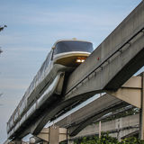 Monorail transportation system at Walt Disney World. Royalty Free Stock Image