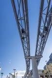 Monorailspoor Royalty-vrije Stock Afbeeldingen