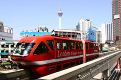 Monorotaia di chilolitro, Kuala Lumpur fotografia stock libera da diritti