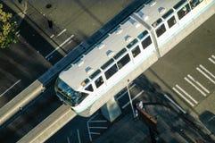 Monorotaia di Seattle Fotografie Stock