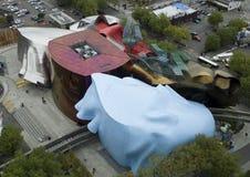 Monorotaia di Seattle e museo di EMP Fotografie Stock