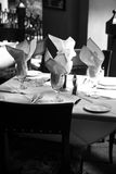 monotone ресторан Стоковое Изображение