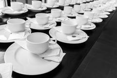Monotone koloru set kawowa przerwa Obraz Royalty Free