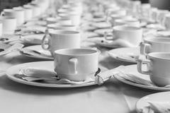 Monotone koloru set kawowa przerwa Zdjęcia Stock