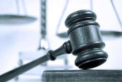 Monotone Rechtsauffassung Lizenzfreie Stockbilder
