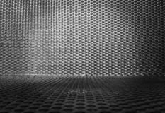 Monotone style background basketry be used for trade shows. Empty top space for text royalty free stock photography