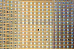Monotonous facade royalty free stock image