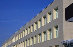 Monotonous facade. stock photos