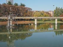 Monotrilho em Italia 61 em Turin, Itália Imagem de Stock Royalty Free