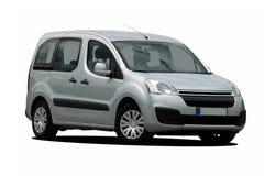 Monovolumen, station wagon, van, car Royalty Free Stock Photo