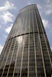 Monpanasse现代办公楼在巴黎 免版税库存图片