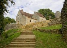 MONPAZIER, FRANÇA - 10 DE SETEMBRO DE 2015: Quadrado principal no bastide de Monpazier, Aquitaine, Dordogne, França, em setembro  Foto de Stock