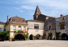 Monpazier, France Royalty Free Stock Photography