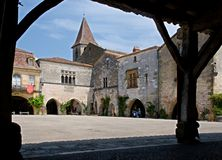 Monpazier, France Stock Images