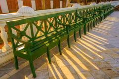 Monplezirskaya terrace . Royalty Free Stock Images