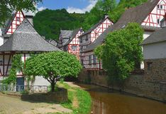 Monreal in the eifel Stock Photo