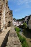 Monreal - mooiste stad in het Palatinaat van het Rijnland Royalty-vrije Stock Foto
