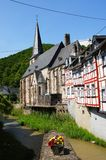 Monreal - most beautiful town in Rhineland Palatinate Royalty Free Stock Photography