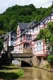 Monreal - most beautiful town in Rhineland Palatinate Royalty Free Stock Images