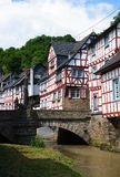 Monreal - most beautiful town in Rhineland Palatinate Stock Photo