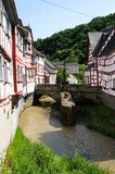 Monreal - most beautiful town in Rhineland Palatinate Stock Image