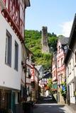 Monreal - najwięcej pięknego miasteczka w Rhineland Palatinate Obraz Stock