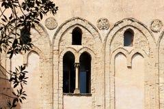 Monreale, старый нормандский собор, деталь Стоковое Фото