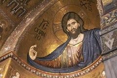 Monreale, старый нормандский собор Стоковое Изображение