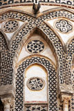 Monreale, the ancient norman cathedral, detail Royalty Free Stock Photography