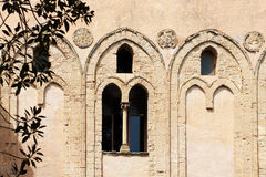 Monreale, the ancient norman cathedral, detail Stock Photo
