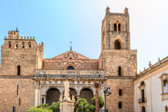 Monreale Cathedral. Famous Cathedral of Monreale in Sicily, Italy Royalty Free Stock Image