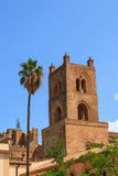 Monreale Cathedral. Famous Cathedral of Monreale in Sicily, Italy Stock Photography