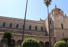 Monreale cathedral, Palermo Stock Image