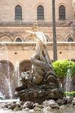 Monreale Cathedral, Sicily Stock Image