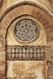 Monreale den forntida norman domkyrkan, detalj Arkivfoton