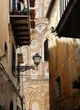 Monreale den forntida norman domkyrkan, detalj Arkivbilder