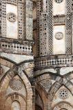 Monreale den forntida norman domkyrkan, detalj Royaltyfri Bild