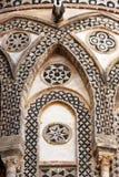Monreale den forntida norman domkyrkan, detalj Royaltyfri Fotografi