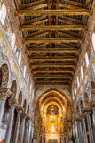 Monreale Interior Royalty Free Stock Image