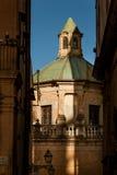 MONREALE ITALIË - Oktober 13, 2009: De Monreale-gebouwde Kathedraal Stock Foto