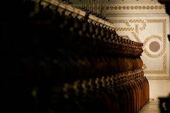 MONREALE ITALIA - 13 ottobre 2009: Interno della cattedrale di Fotografie Stock Libere da Diritti