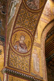 MONREALE ITALY - October 13, 2009: Interior of the Cathedral of Stock Image