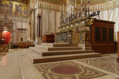 Monreale Kathedrale Lizenzfreie Stockfotos